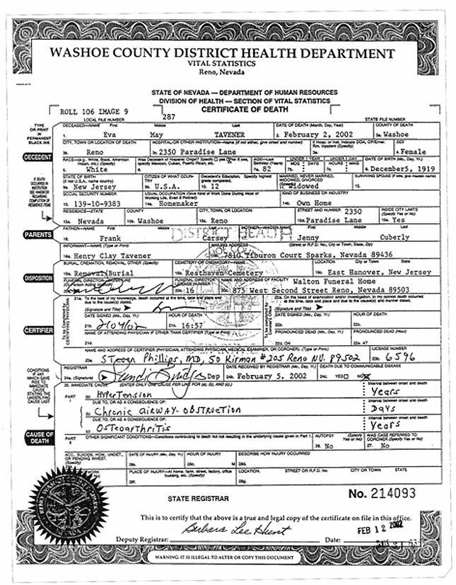 Washoe County Death Records Washoe Public Records Washoe County