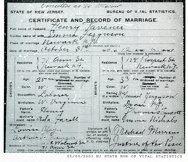New Jersey Counties Birth Certificate Death Record Nj